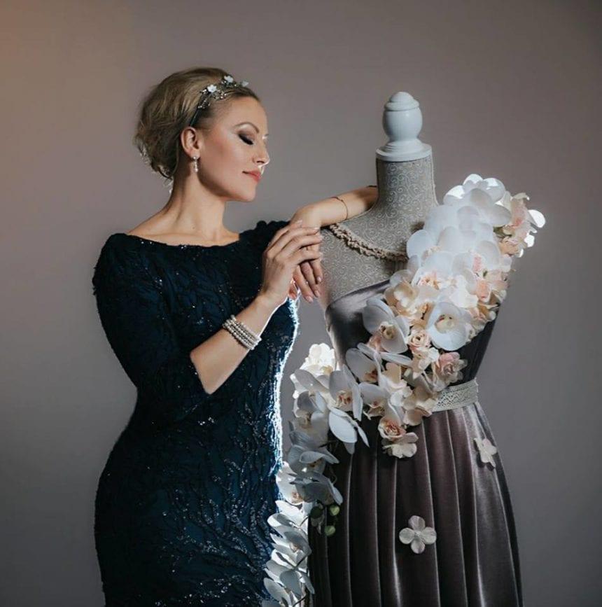 Designerul Tina Olari se pregătește să bată două recorduri mondiale la Madrid. Despre ce este vorba
