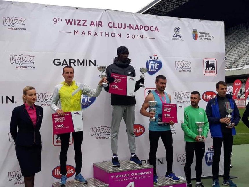 Un bârgăuan, pe podium la Maratonul Wizz Air Cluj Napoca