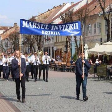 Marșul Învierii, sâmbătă, pe străzile din Bistrița!
