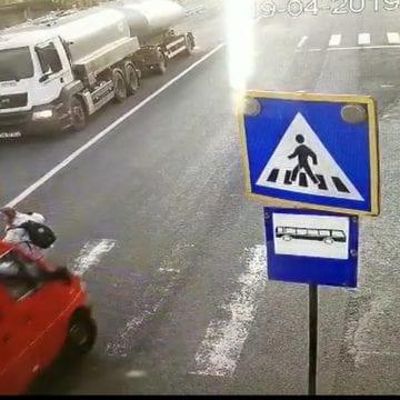 Șoferul care a accidentat pe trecerea de pietoni o femeie a fost reținut