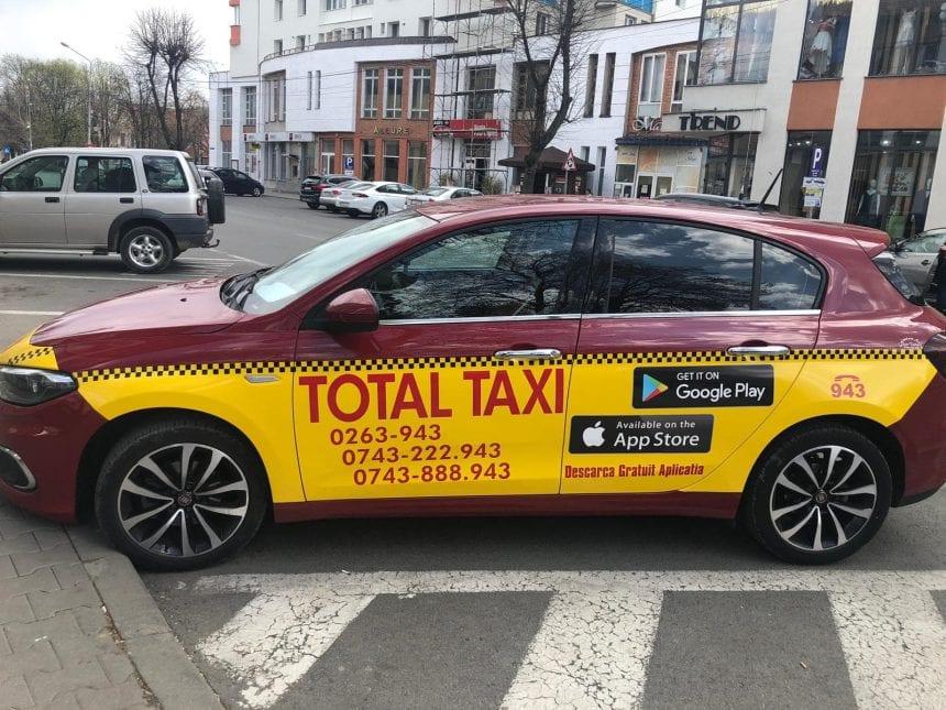 Ai descărcat aplicația TOTAL TAXI?! E mai simplu ca niciodată să comanzi un taxi curat și sigur!