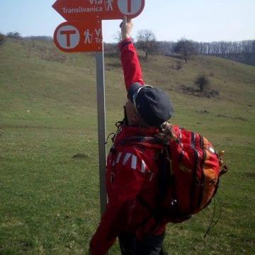 FOTO: Să facem noi bine pentru Via Transilvanica, de rău se ocupă alții! Jumătate din semne au fost distruse