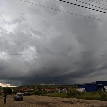 COD PORTOCALIU de vreme severă și inundații în Bistrița – Năsăud!