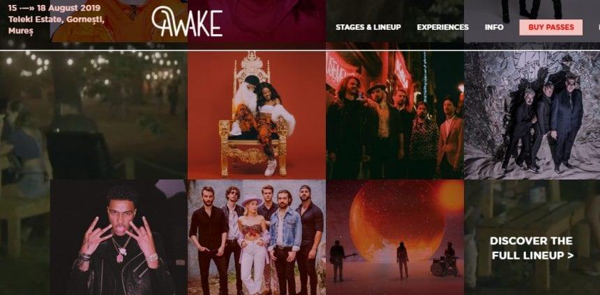 Noutăți de iunie, la AWAKE Festival…!