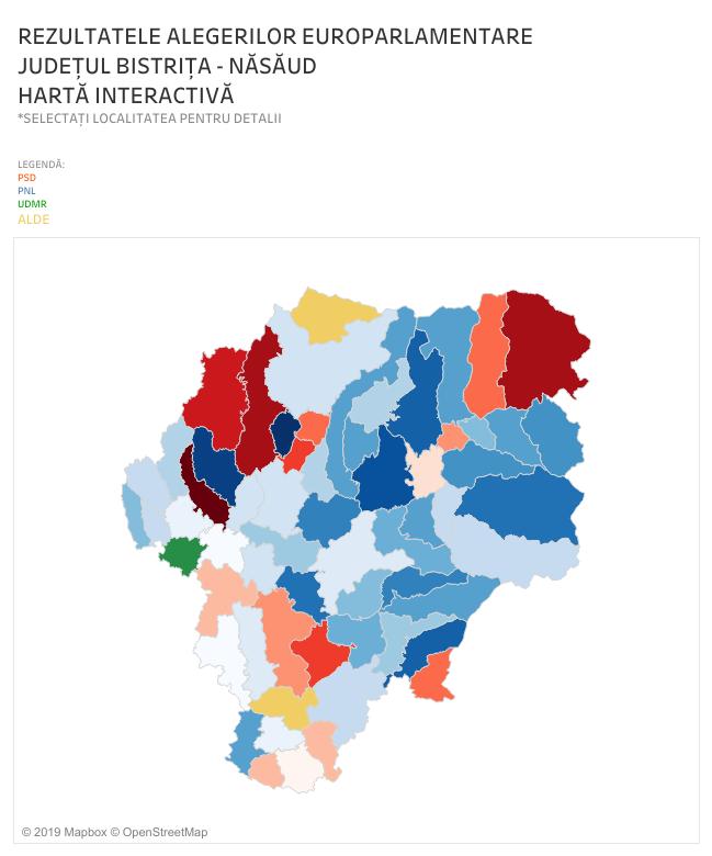 VEZI rezultatele finale la alegerile de duminică, din județ! – Hartă interactivă: