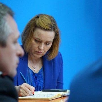 FOTO/VIDEO: Vizită surpriză a ministrului Afacerilor Interne la Bistrița! Carmen Dan a făcut verificări în urma inundațiilor din ultimele zile