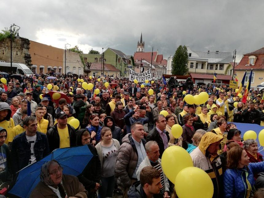 FOTO: Final de campanie electorală PNL la Bistrița!