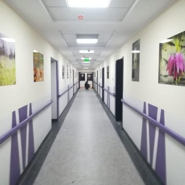 FOTO:  Inedit, la secția de Terapie Intensivă din Spitalul Județean Bistrița!