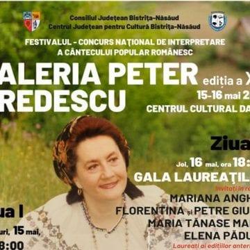 """Festivalul concurs """"Valeria Peter Predescu"""", ediție jubiliară: Premii deosebite și recitaluri folclorice extraordinare!"""