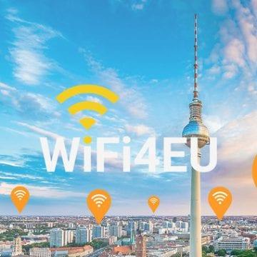 250 localități din România primesc fonduri UE pentru internet wireless gratuit, prin programul WiFi4 EU. Nu și Bistrița!