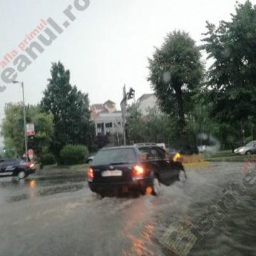 Bistrița-Năsăud – în continuare sub COD GALBEN de inundații! Bilanțul zilei de ieri: