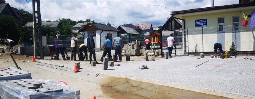 VIDEO:  Parc industrial, într-un sat din Bistriţa-Năsăud…?!