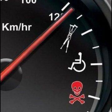 Încă 27 de șoferi au rămas pietoni din cauza vitezei prea mari! RECORDUL a trecut de 200 km/h