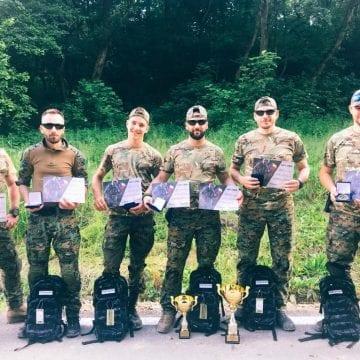 FOTO: O echipă de bistrițeni, cea mai bună patrulă Airsoft din România!