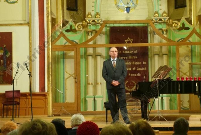 Fredi Deac, președintele Comunității Evreilor din Bistrița-Năsăud, a fost condus pe ultimul drum: Memoria să-i fie binecuvântată!