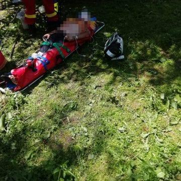 A căzut din cireș! Elicopterul SMURD, chemat în ajutor!