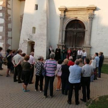"""FOTO/VIDEO: Ziua în care """"inima Bistriței"""" a încetat să mai bată, comemorată prin rugăciune"""