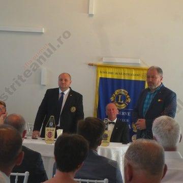FOTO/VIDEO: Lions Club Bistriţa are un nou preşedinte