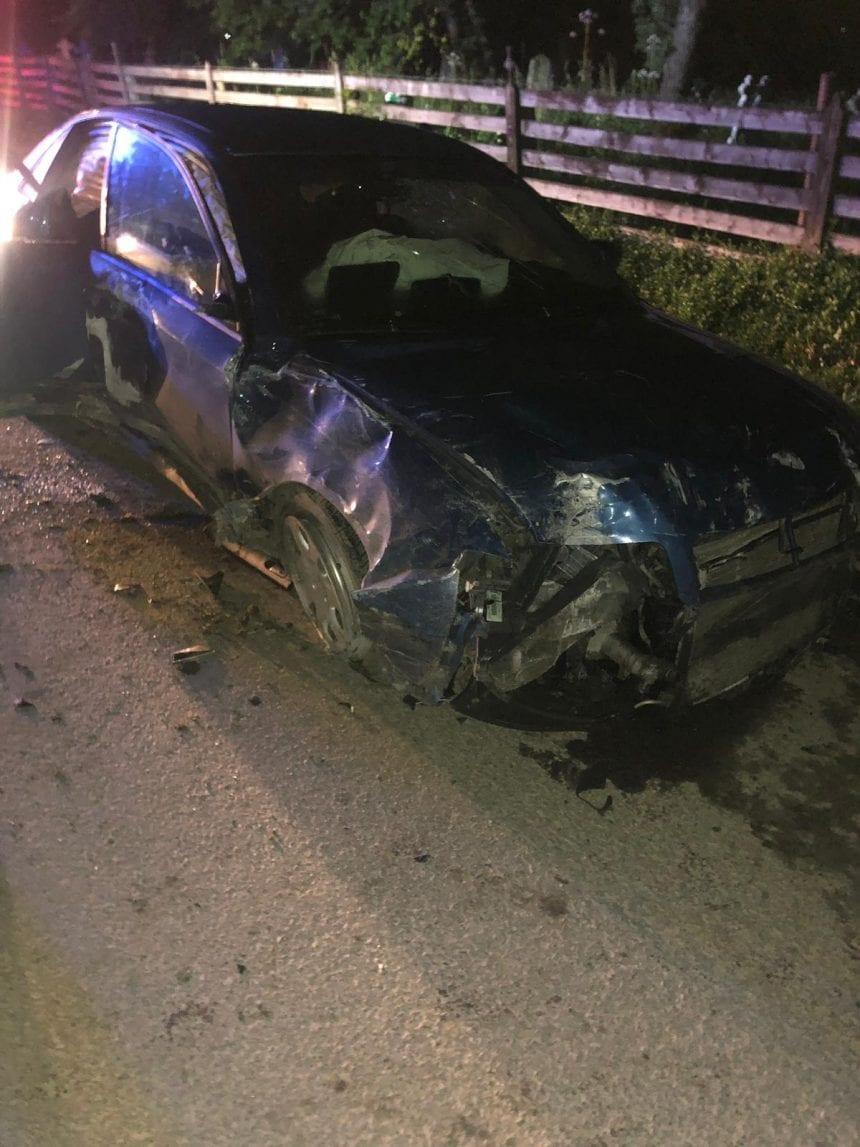 FOTO – Accidentele s-au ținut lanț ieri! Un motociclist și încă două persoane au ajuns la spital