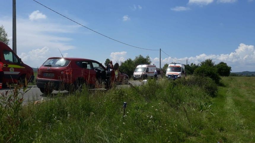 FOTO/VIDEO: Accident MORTAL la ieșirea din Blăjeni spre Șintereag