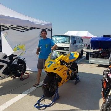 Super provocare în acest weekend pentru motociclistul Sorin Pop