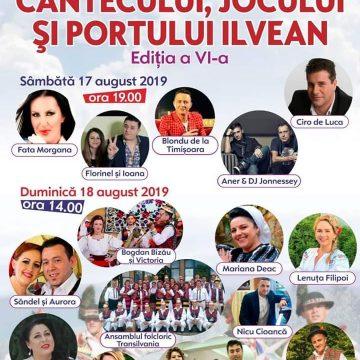Săndel și Aurora cântă la Festivalul Cântecului, Jocului și Portului Ilvean!