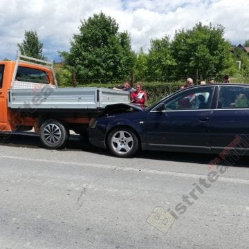 FOTO: 4 mașini și 10 persoane, implicate într-un accident pe Dealul Dumitrei