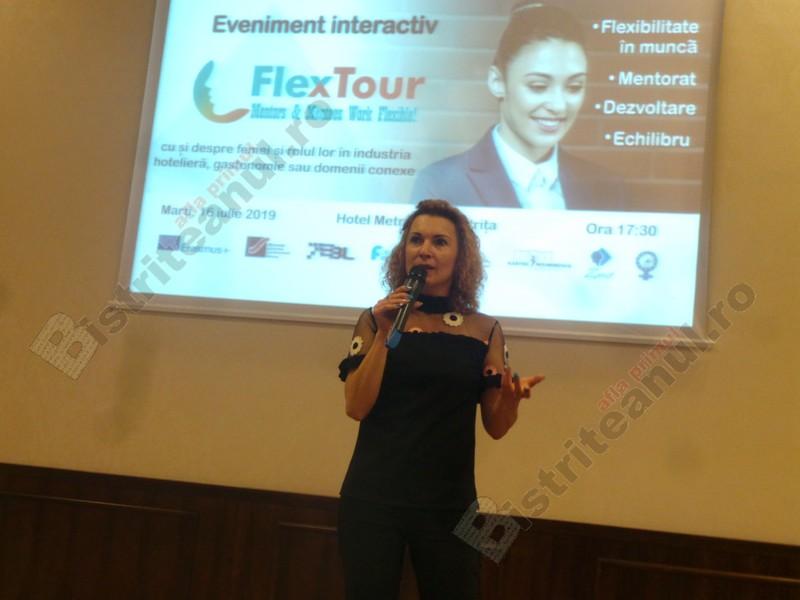 FOTO/VIDEO:  Despre femei puternice, provocări, vise şi afaceri de succes, la FlexTour