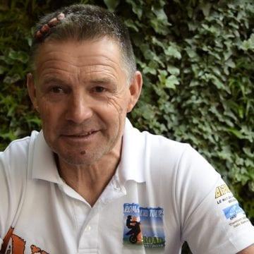 VIDEO EXCLUSIV: Bătut crunt de ciobani, Michel, legendă mondială printre motocicliști, spune că va iubi în continuare Bistrița-Năsăud