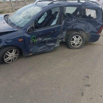 FOTO: Joia neagră pe Bârgău. Trei accidente în mai puțin de două ore