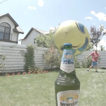 VIDEO: Șut și… dooop! Gabi Balint s-a alăturat provocării verii
