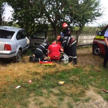 FOTO/VIDEO: GRAV accident de circulație în Lechința
