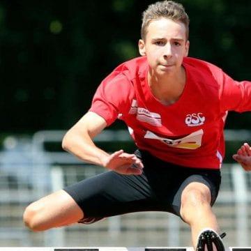 La nici 16 ani, un bistrițean este revelația atletismului nemțesc