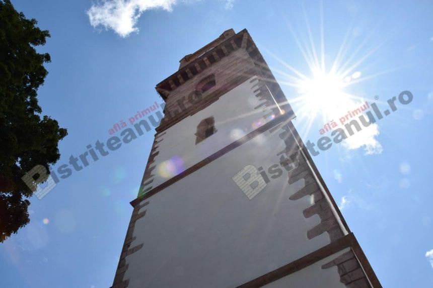 Nu se mai poate urca în turnul Bisericii Evanghelice!