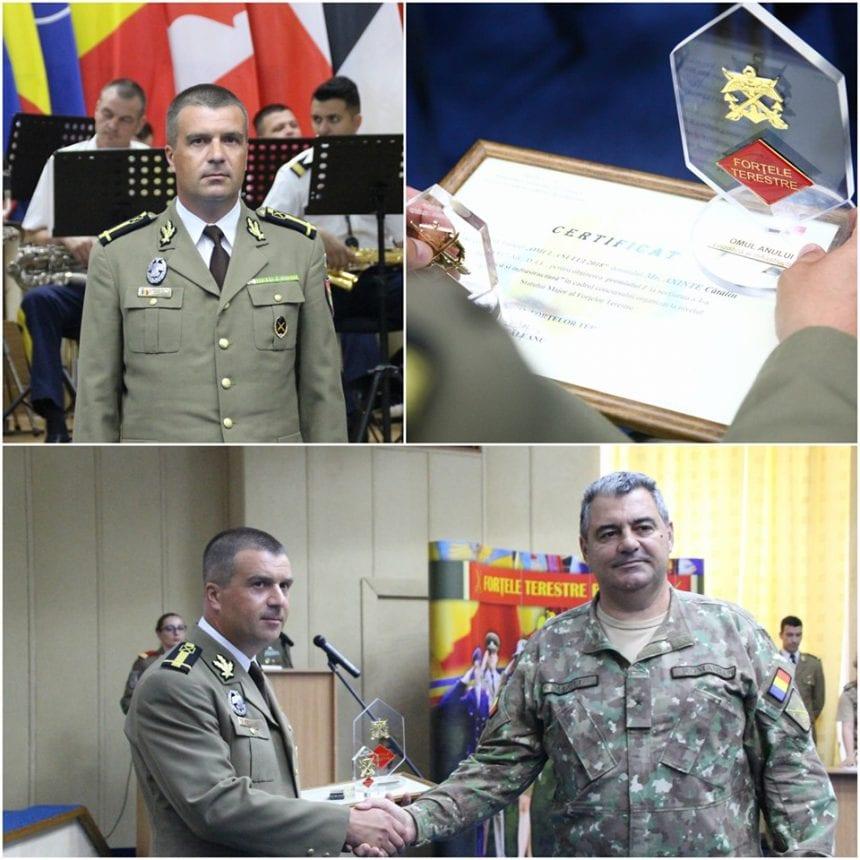 Un militar din Prund, omul anului, în cadrul Galei Statului Major al Forțelor Terestre