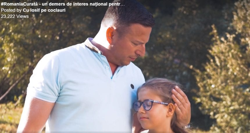 VIDEO: Un primar, într-un clip ce motivează oamenii la o Românie curată!
