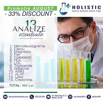 """Promoție de 33 la sută la """"Oglinda sănătății tale"""" by Holistic"""