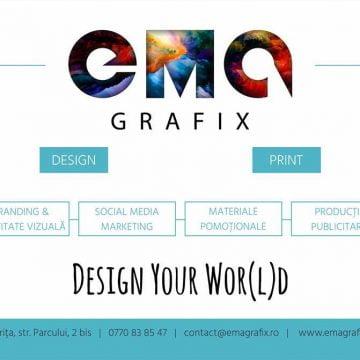 EMA Grafix lucrează ca în Formula 1. Repede…!