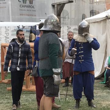 FOTO/VIDEO: Lupte, costume și mâncare ca în secolul XV, la Zilele Medievale!