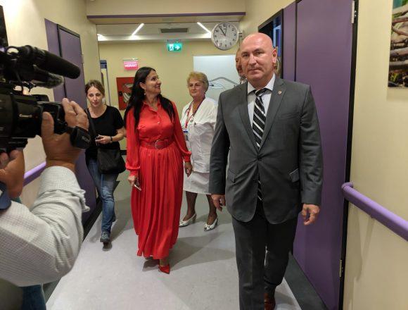 FOTO/VIDEO: Noua secție ATI, inaugurată alături de ministrul sănătății Sorina Pintea