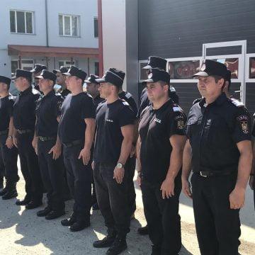 FOTO: Donații pentru Pompierii bistrițeni din partea partenerilor germani