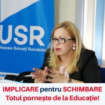 Cristina Iurişniţi (USR): Începe un nou an școlar. Pe cine a ales PSD să conducă Ministerul Educației Naționale?