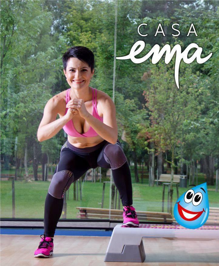 Mirela Riti este noul antrenor de fitness de la Casa EMA!