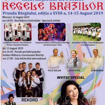 """""""Regele Brazilor"""", la Prundu Bârgăului, de Sfânta Marie! Invitaţi de excepţie"""