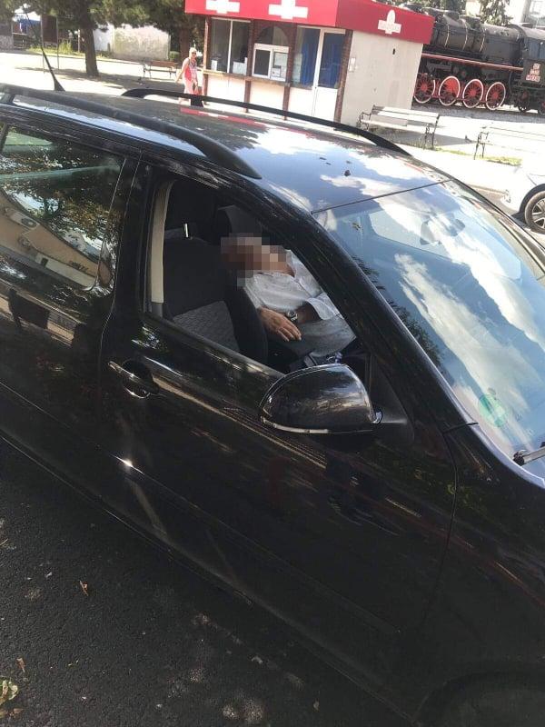 S-a chefuit la nuntă și a adormit în drum spre casă. Pățaniile șoferului trezit în trafic de Poliție și Ambulanță