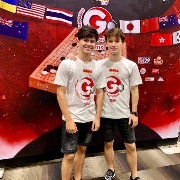 Frații Dobraniș, din nou la Campionatul Internațional de GO. Bistrițenii sunt singurii europeni din competiție