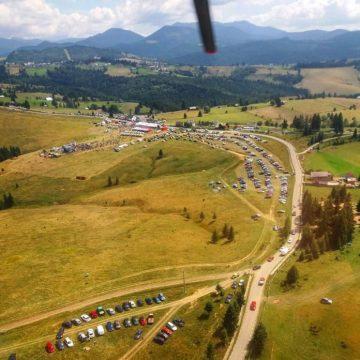 Mister elucidat: Ce misiune a îndeplinit elicopterul care a survolat județul în weekend