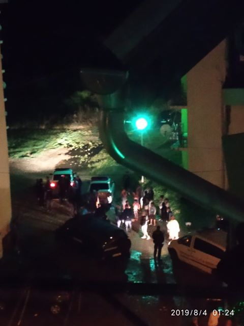 FOTO: O ceartă în toiul nopții a scos în stradă toți locuitorii de la ANL din Viișoara