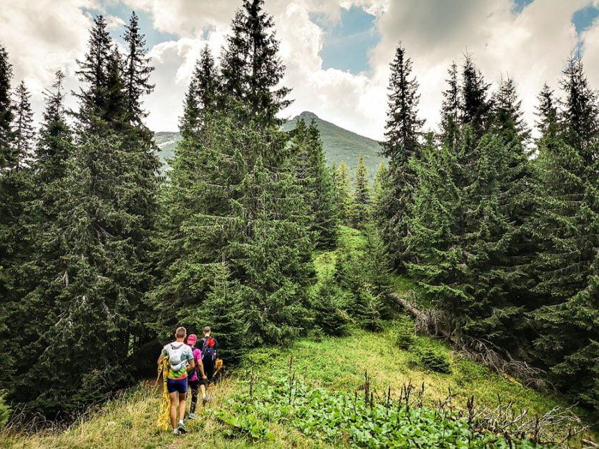 Munții Călimani, cea mai populară destinație a weekendului pentru sportivi. Via Maria Theresia la ediția cu numărul VI