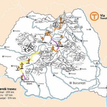 PERFORMANȚĂ! Via Transilvanica a ajuns la 300 de kilometri. Ce planuri sunt pentru toamna aceasta: